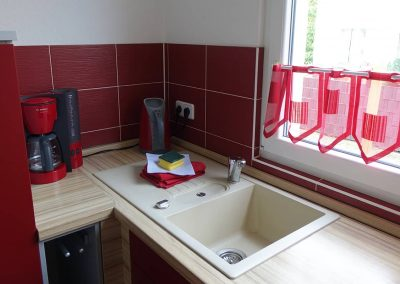 Küche Kaffeemaschine Waschbecken