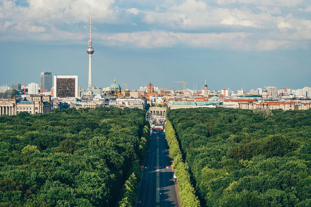 Berlin Tiergarten Goldelse