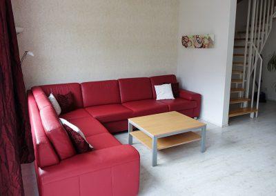 Wohnzimmer Ferienhaus Sofa Couch